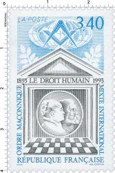 sello postal LDH en Francia 1993